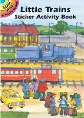Little Trains Sticker Activity Book
