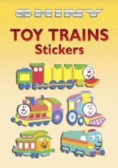 Shiny Toy Train Stickers