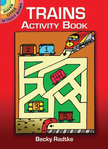 Trains Activity Book