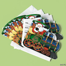 Holiday Train Invitations