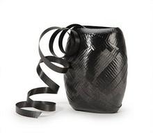 Curling Ribbon Keg - Black Color