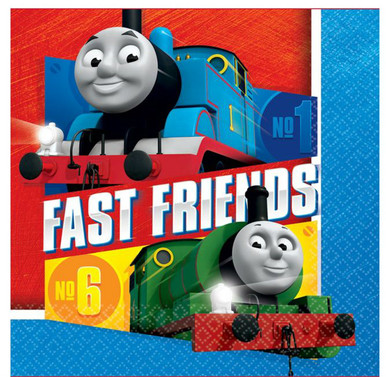 Thomas & Friends Full Steam Ahead Luncheon Napkins