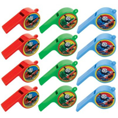 Thomas and Friends Plastic Whistles (12 ct)