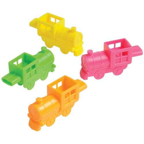 Hard Plastic Train Whistles (12 ct)