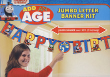 Thomas & Friends Add-an-Age Jumbo Letter Banner Kit