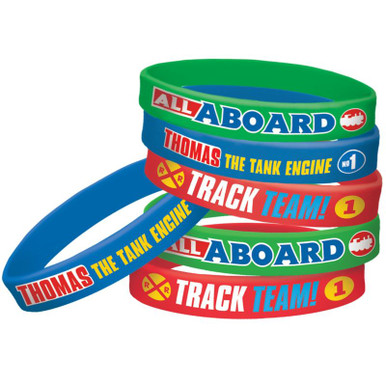 Thomas & Friends Rubber Bracelets (Wristbands)