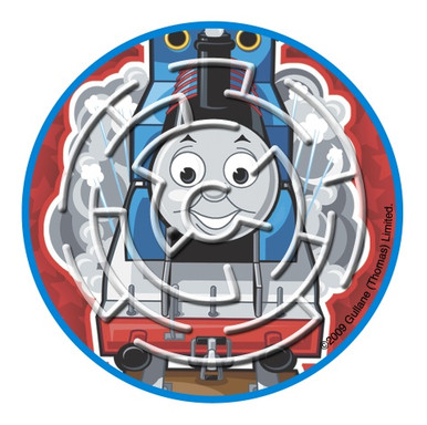 Thomas the Tank Engine Maze Favor