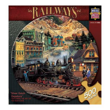 Silver Gulch Departure Jigsaw Puzzle (500 pc)