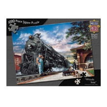 Whistle Stop Train Jigsaw Puzzle