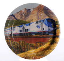 Amtrak Train Party Dinner Plates
