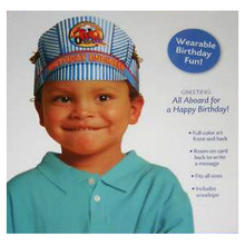 Birthday Engineer Hat Card