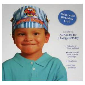 Birthday Engineer Hat Card
