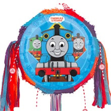 Thomas All Aboard Pull Ribbon Pinata Kit