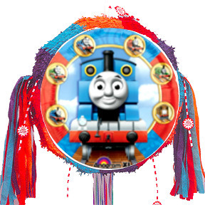 Train Shaped Party Pull Piñata