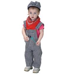 Jr. Train Engineer Costume : Size 18M