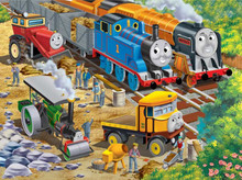 Roadside Repair Thomas & Friends Puzzle Finished
