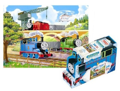 Thomas Amp Friends Off To Work Floor Puzzle