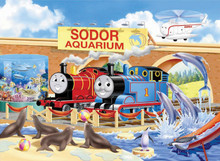 Thomas & Friends Sodor Aquarium Puzzle