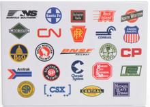 Railroad Logos  Magnet