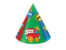 Around Town Party Cone Hats