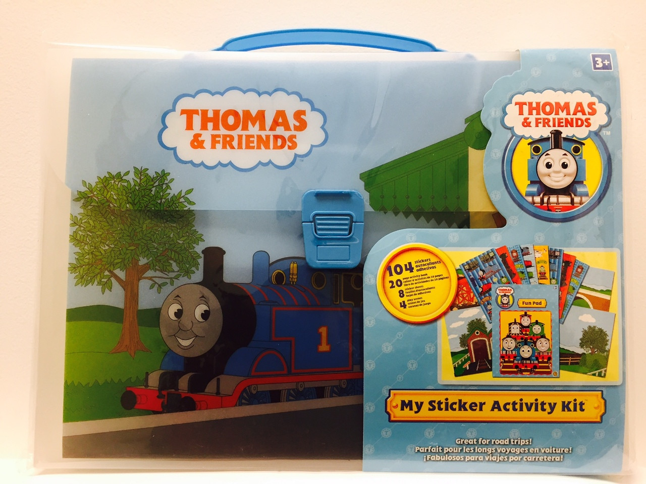 Fantastic Thomas Train Sticker Activity Kit Along With Carrying Case Download Free Architecture Designs Scobabritishbridgeorg