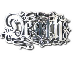 Alchemy Gothic Death Script Buckle