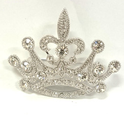Toxic Diamontie Crown brooch