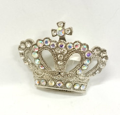 Diamontie Crown brooch