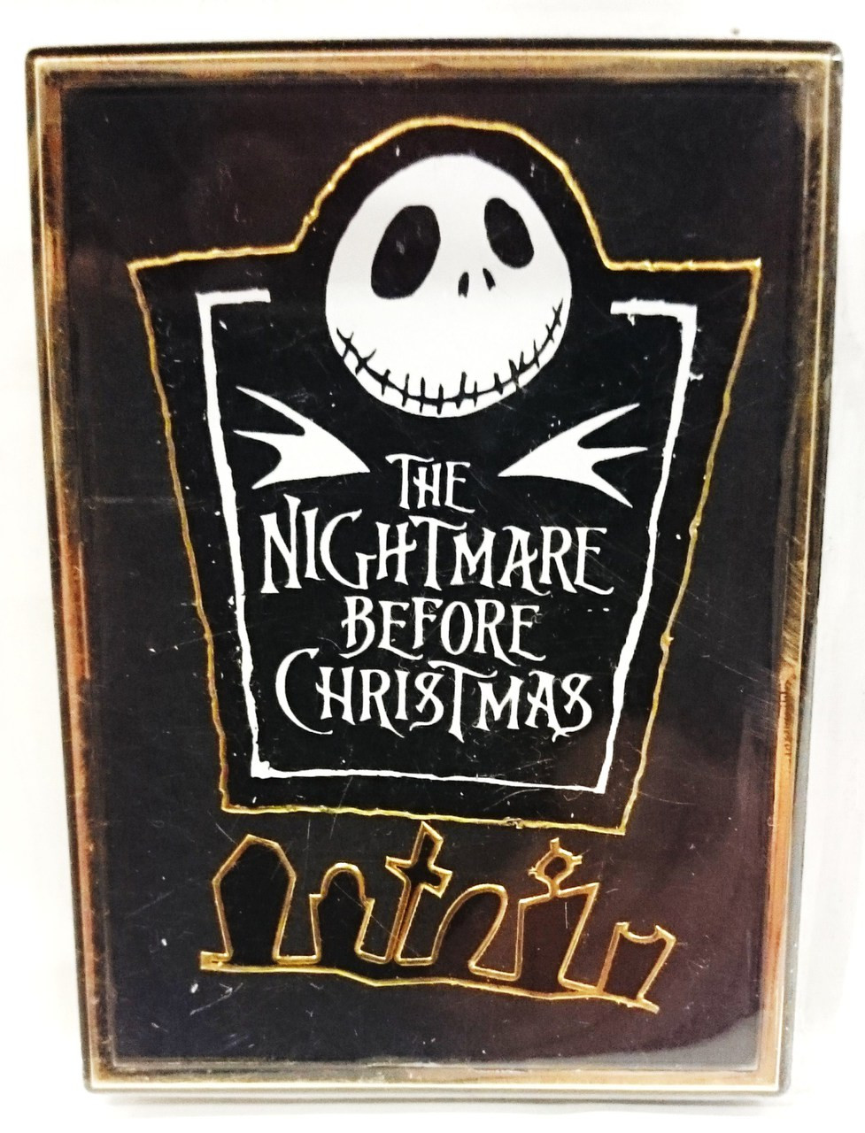 Nightmare Before Christmas Nbx Title And Cemetary Magnetphoto
