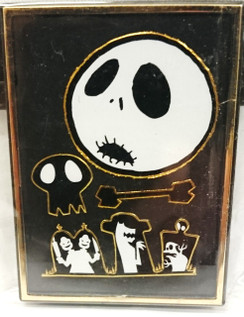 Nightmare before Christmas (NBX) Jack face and cemetary magnet/photo frame