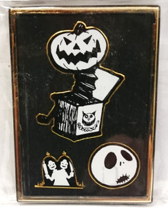 Nightmare before Christmas (NBX) Jack in the box magnet/photo frame