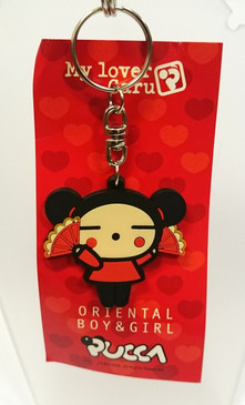 Pucca key ring