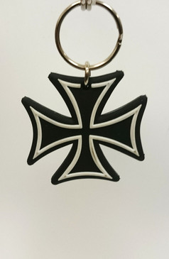 Iron Cross key ring
