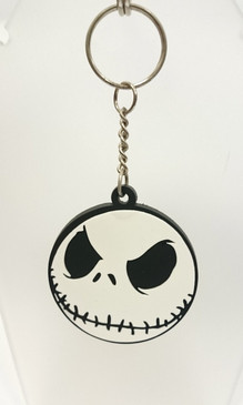 Nightmare before Christmas (NBX) Jack face key ring