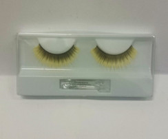 Black and yellow lashes