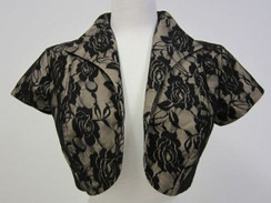 Bettie Page Mirror Bolero