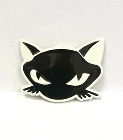 Black Cat face buckle