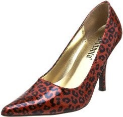Sizzle 02 Red Leopard Heels