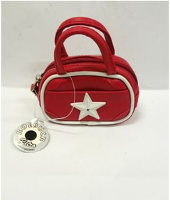 Roebuck Mini handbag coin purse with white star