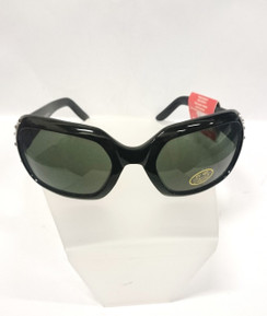 Maddy sunnies - black front