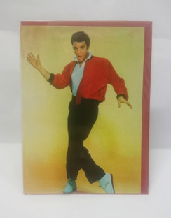 Elvis Presley blank card with envelope