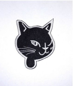 Small Winking cat patch
