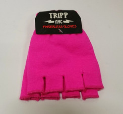 Tripp Fluro Pink fingerless gloves