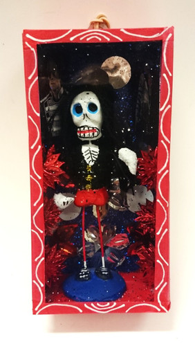 Day of the dead Nicho Box Michael Jackson