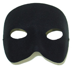 Casanova Black eye mask
