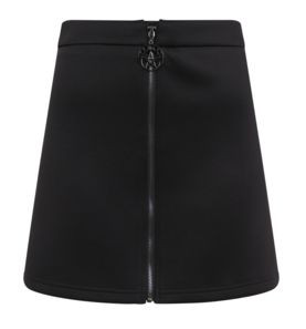 Goth Bodycon Skirt Front