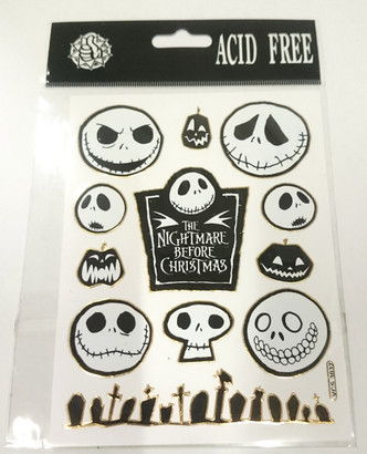 Nightmare before Christmas (NBX) Assorted Stickers Style 1