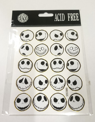 Nightmare before Christmas (NBX) Assorted Stickers Style 2
