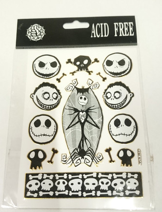 Nightmare before Christmas (NBX) Assorted Stickers Style 3