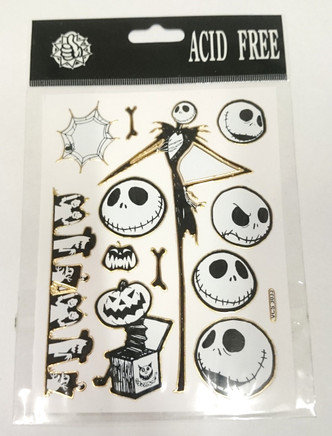 Nightmare before Christmas (NBX) Assorted Stickers Style 4